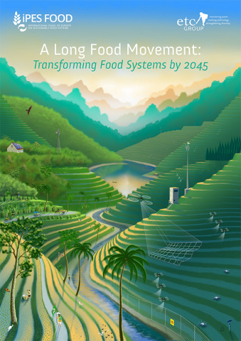 Envisaging rice farming in 2045 under two very different food systems